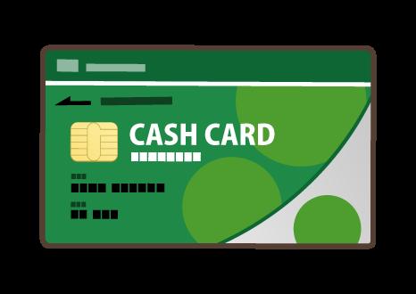 【銀行】外国人のキャッシュカード作り?