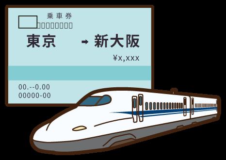 【乗り物】新幹線チケットを安く買える?