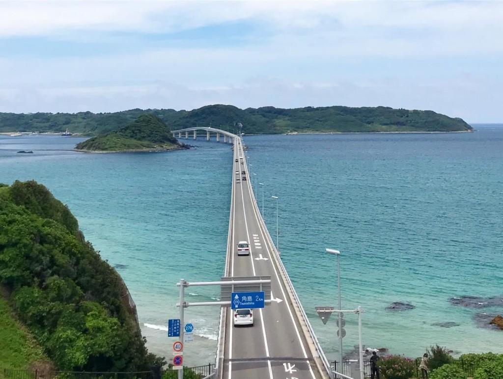 テレビCMで有名な大橋の絶景